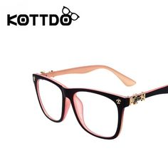 Fashion Men Women Brand Designer Optical Myopia Eyeglasses Frame Plain Retro Computer Eye Glasses Frame Oculos De Grau TY721