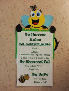 Pbis bathroom rules - Bathroom procedures for preschool ...