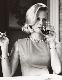 Betty Draper from Mad Men is the epitome of the perfect 50's housewife. Plus the…