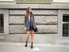 Hi Guys! Autumn is being so good to us with sunny days and high temperatures that I couldn't resist wearing light outfits. Add my never ending obsession with Saint Laurent inspired looks and…