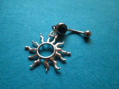 sun belly button ring by sindys on Etsy, $12.00