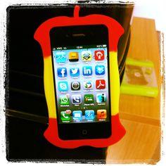 Capa de Silicone de Maçã para iPhone 4/4S