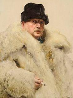 ХУДОЖНИК ANDERS ZORN / АНДЕРС ЦОРН (1860-1920). автопортрет