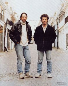 The Cohen Brothers- creators of movies like Fargo, Oh Brother, Where Art Thou, Burn After Reading and many others...