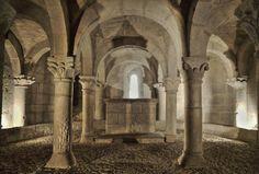 Cripta románica - San Martín de Unx