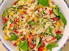 Sommerlich leichter Reissalat (Rezept mit Bild) von Calorine   Chefkoch.de