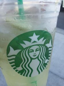 Starbucks Summer Mission #11: Cool Lime Refresher
