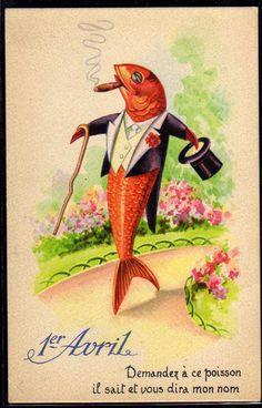 april fools fish joyeux avril