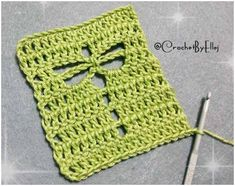 How to Easily Crochet the Dragonfly Stitch. Beginners friendly Crocheted Dragonfly Stitch with Free Pattern and Tutorial. patterns free blanket beginner How to Easily Crochet the Dragonfly Stitch Crochet Stitches Free, Crochet Motifs, Crochet Squares, Crochet Blanket Patterns, Free Crochet, Stitch Patterns, Knitting Patterns, Easy Knitting, Start Knitting