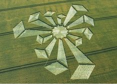 The world's first three-dimensional crop circle has been discovered deep in the English countryside, sparking the start of the corn circle season. Description from lightforcenetwork.com. I searched for this on bing.com/images