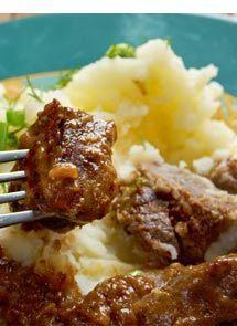 Receta de Guiso de Carne para Crock Pot