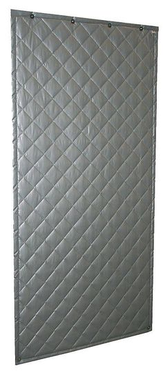 Industrial Noise 110 Wall Blanket, Noise Absorbing, Gray