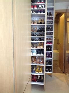 Shoes - Shoes You are in the right place about bedroom lighting Here we offer y. Shoes - Shoes You are in the right place about bedroom lighting Here we offer you the most beautiful pictur - Walk In Closet Design, Wardrobe Design Bedroom, Closet Designs, Closet Bedroom, Bedroom Storage, Closet Shoe Storage, Shoe Closet, Smart Closet, Wardrobe Storage