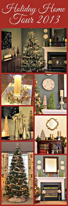 Just gorgeous @Jo Lynne ! Welcome to my #Holiday Home Tour! #christmas #decor #festive