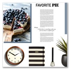"""""""What's Your Favorite Pie?"""" by antemore-765 ❤ liked on Polyvore featuring interior, interiors, interior design, home, home decor, interior decorating, Newgate, CB2, Kate Spade and favoritepie"""