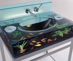I found 'Fish Aquarium Sink' on Wish, check it out!