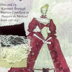"#costume #design for #filmproduction #dangerousliaisons Maquise de Merteuil  Theme: #character + #languageofflowers   #scabiosa means unfortunate love and ""I've lost everything""  #costumedesign #costumedesigner for #film  #designgram #artgram #artistsoninstagram #illustration #costumeillustration #creative #mywork #workshop #myworks #watercolor #watercolorpainting #18thcentury #18thcenturydress #creator #aub #aubmakers #red #winered #reddress"