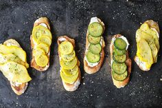 Crostini Featuring Summer's Finest Ingredients #Refinery29