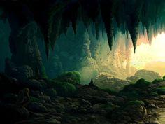 computergrafik landschaften | Alpha Coders | Wallpaper Abyss Fantasy Landschaft 97934