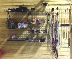 Ideas For Tack Locker Organization Horse Barns