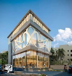 COMMERCIAL #ExteriorDesign #3DRENDER DAY VIEW BY www.hs3dindia.com @nirlepkaur_id #cgi #Architecture #modernarchitecture