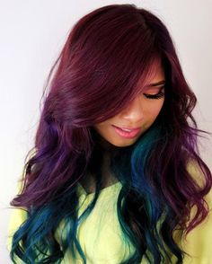 Crazy Hair Color for Girls 2015 – 2016