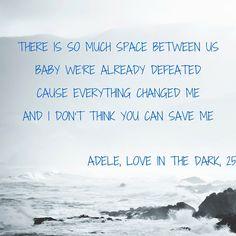 Adele, Love In The Dark 25