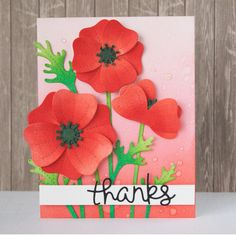 The blog is filled with Pretty Poppies today! Check out all the amazing Design Team inspiration! Link in profile. #prettypoppies #lawnfawn #lawnfawninspirationweek @yainea