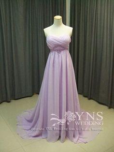 *。°*爽やかなカラードレス*。°* の画像|オーダーウェディングドレスのYNS WEDDING