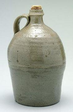 J.D. Craven Stoneware Jug,