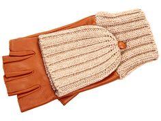 Echo Design Leather/Knit Pop Top Glove 78$, sale 62.99$