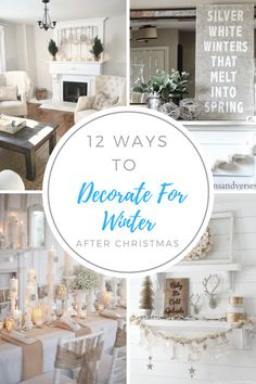 Winter holiday, Christmas decor, DIY christmas, DIY Winter holiday, popular pin, holiday decor, decorate for winter, winter decor ideas.