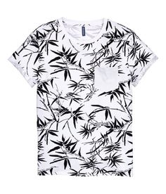 T-shirt with Chest Pocket   H&M Divided Guys