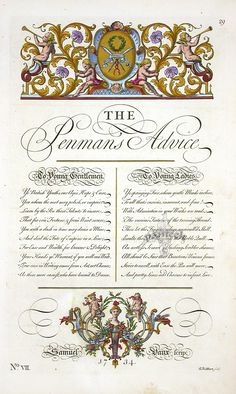 The Universal Penman by George Bickham 1741