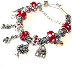 Little Red Riding Hood Charm Bracelet  For girl for by OnlyBiju