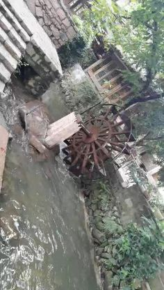 Water Wheel Generator, Playgrounds For Sale, Water Turbine, Courtyard Landscaping, Hot Tub Backyard, Fish Farming, Energy Projects, Outdoor Playground, Outdoor Games
