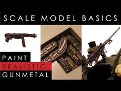 Dave's Model Workshop: Video tutorial: How to paint realistic gunmetal