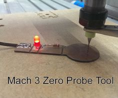This is a Simple Guide on how to use a Probe Tool in Mach 3 to find the exact top of a material. You can use an input on your CNC Controller, but if you don't. Cnc Router Table, Cnc Controller, Cnc Plasma Cutter, Hobby Cnc, Cnc Software, Router Cutters, Router Projects, Cnc Parts, 3d Cnc
