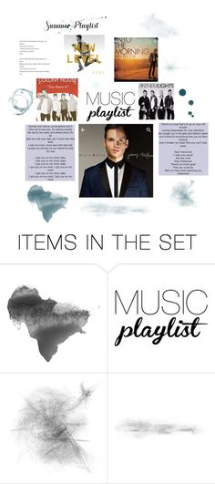 """""""Summer playlist- music"""" by katierae1199 ❤ liked on Polyvore featuring art and Summerplaylist"""