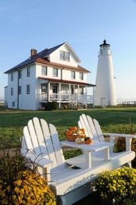 VRBO.com #436958 - Cove Point Lighthouse - Both Sides of the Keeper's Cottage Duplex