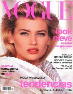 Daniela Pestova Vogue España January 1993