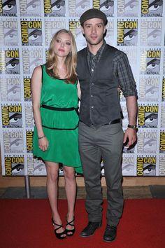 Justin Timberlake and Amanda Seyfried hit Comic-Con
