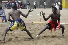 Mantu/Martial Arts of the ancient Hausa people