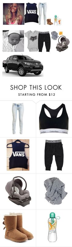 """""""Driving"""" by cleo-scott ❤ liked on Polyvore featuring Ksubi, Calvin Klein, Vans, Bonds, Maxi-Cosi and UGG"""
