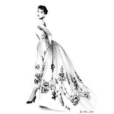 Audrey Hepburn Sabrina Black and White Ink drawing ($20) ❤ liked on Polyvore featuring home, home decor, wall art, sketch, drawings, people, filler, art, black and white drawing and sketch drawing
