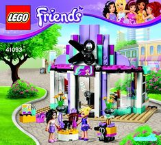Friends - Heartlake Hair Salon [Lego 41093]