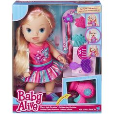 Baby Alive Play 'n Style Christina [Blonde]