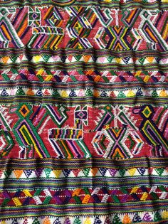 Vintage and Vibrant Guatemala Nebaj Huipil by TheRoamingMSGypsy