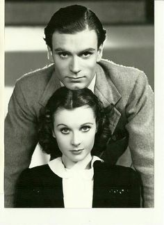 Vivien Leigh and Lawrence Olivier.