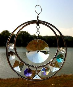 Distracted by Something Shiny - Crystal Suncatcher